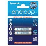 Аккумулятор AAA Panasonic Eneloop 750 мАч, 2 шт.