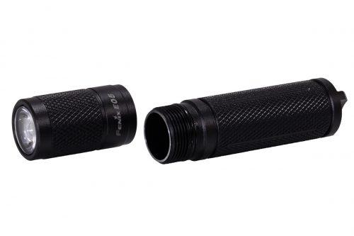 Fenix E05 2014 компактный фонарь черный