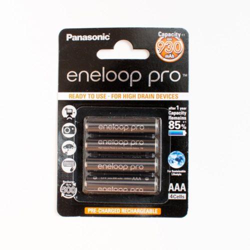 Аккумулятор AAA Eneloop Pro 900 мАч, 4 шт.
