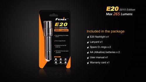 E20 2015 фонарь на каждый день