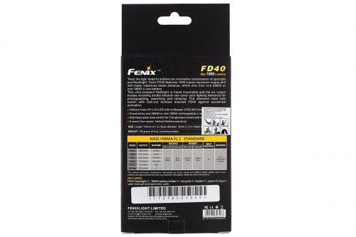 Fenix FD40 с фокусировкой луча