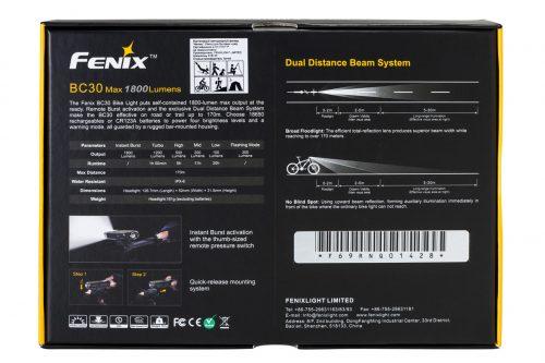 Fenix BC30 1800lm велофара
