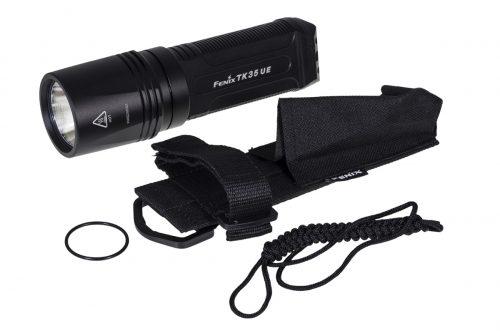 Fenix TK35 UE 1800 lm яркий тактический фонарь