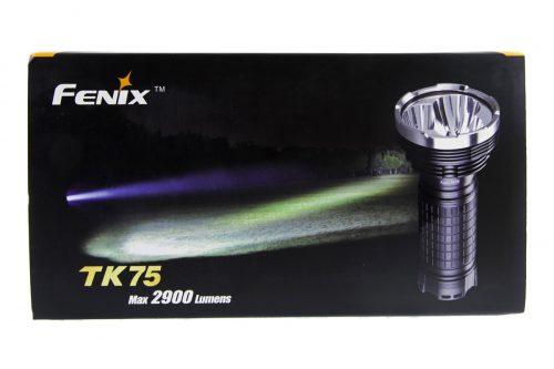 Fenix TK75 мощный поисковый тактический фонарь