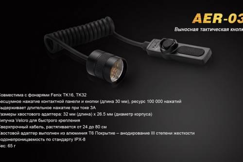 AER 03 выносная тактическая кнопка