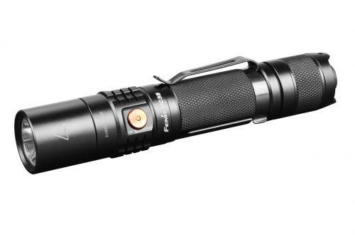 яркий карманный фонарь на литиевых батарейках CR123A или 18650 Li-ion аккумуляторе с зарядкой от USB.