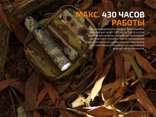 специальная версия фонаря с камуфляжной маскировкой, предназначенная для выполнения тактических задач.