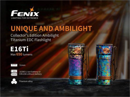 Fenix E16Ti