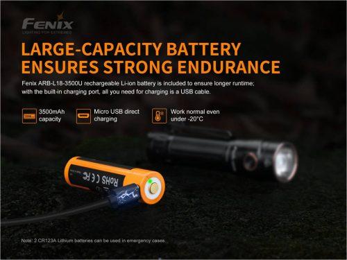 Fenix LD30 с АКБ в комплекте