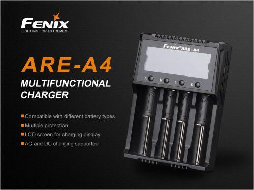 Зарядное устройство Fenix ARE-A4