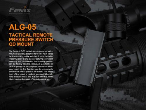 Крепление подствольное Fenix ALG-05 для выносной тактической кнопки