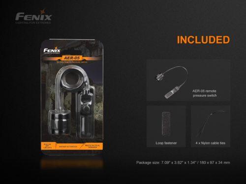 Выносная тактическая кнопка Fenix AER-05